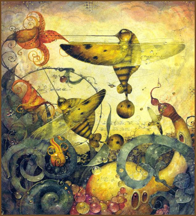 Hummingbees. Daniel Merriam