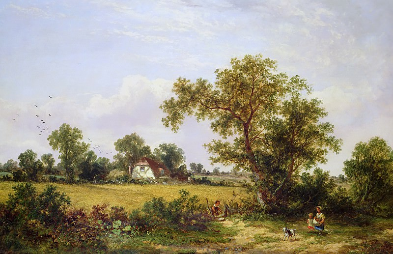 Essex Landscape. James Edwin Meadows