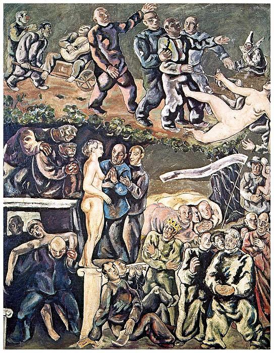El jardin de los locos. Francisco Mateos