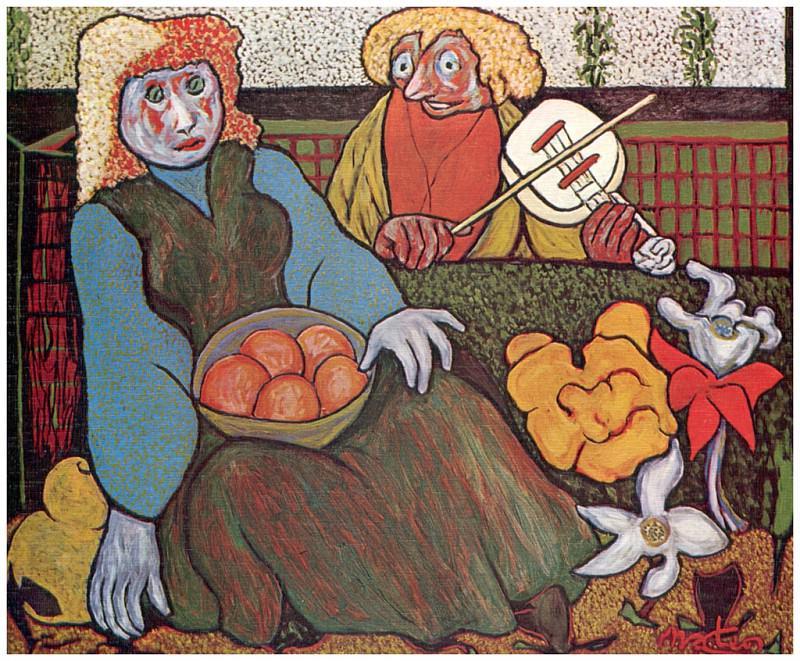 La muсeca y el musico. Francisco Mateos