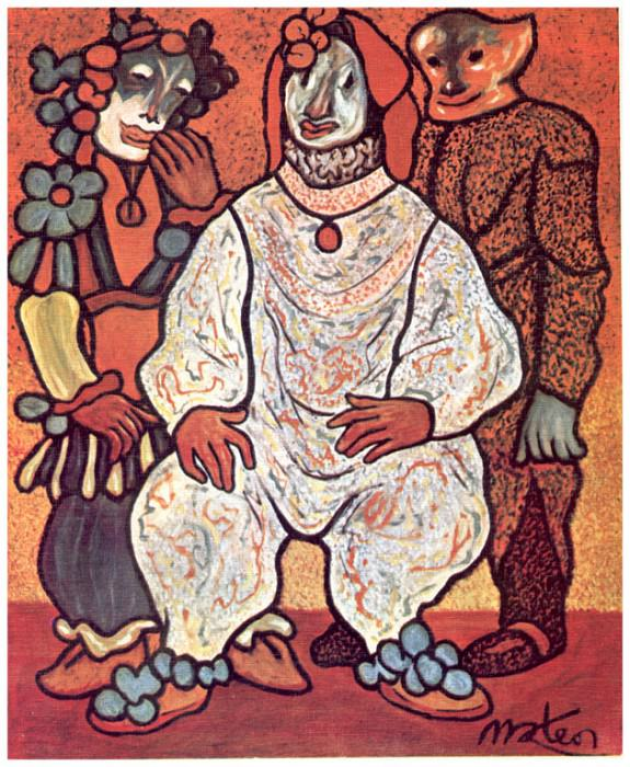 Gente de papel pintado. Francisco Mateos