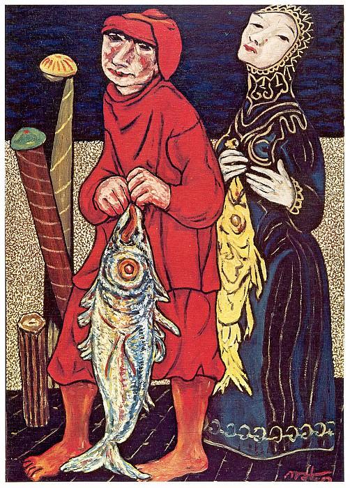 Pescador de peces. Francisco Mateos