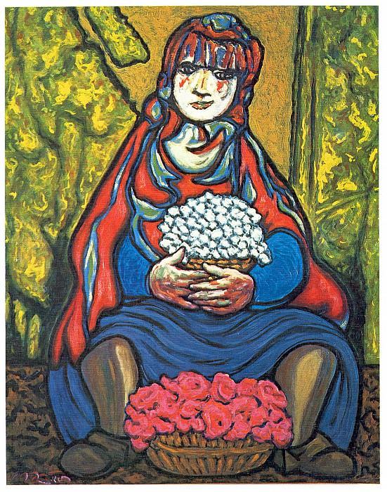 La florista. Francisco Mateos