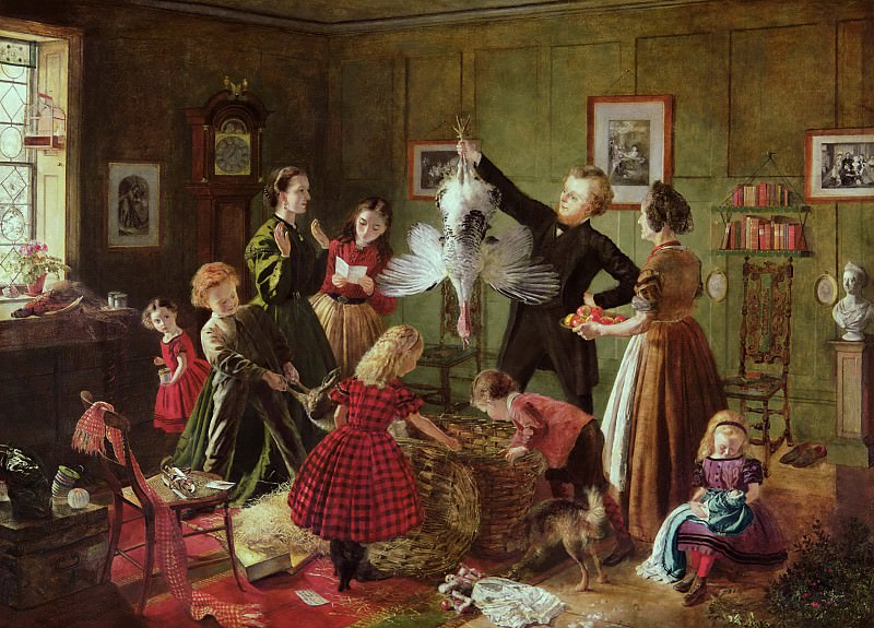 The Christmas Hamper. Robert Braithwaite Martineau