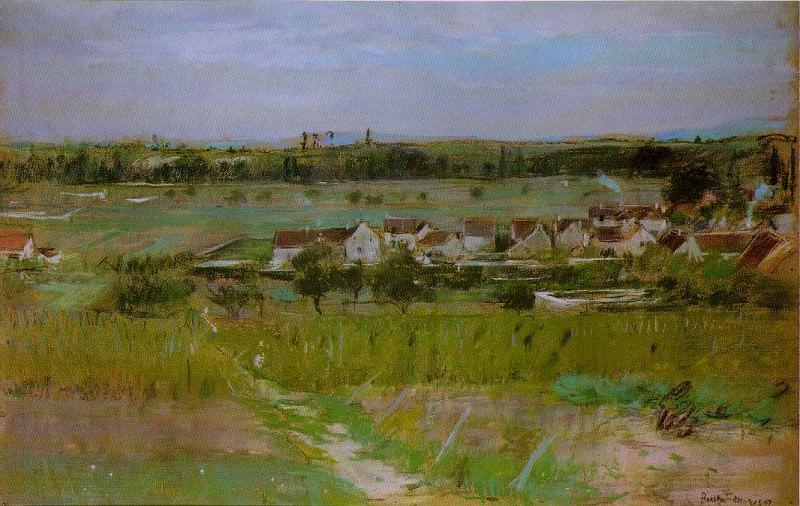 village. Berthe Morisot