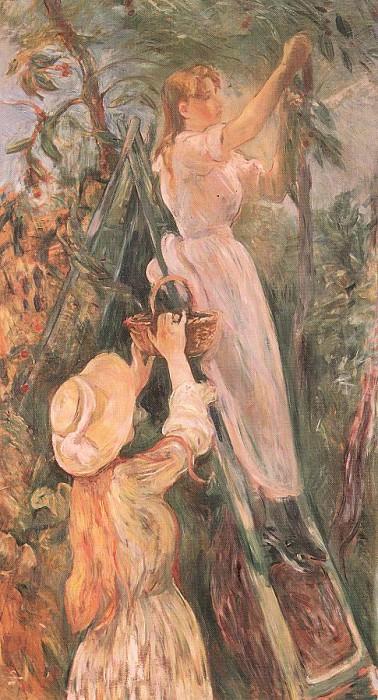 Вишневое дерево, 1893. Берта Моризо