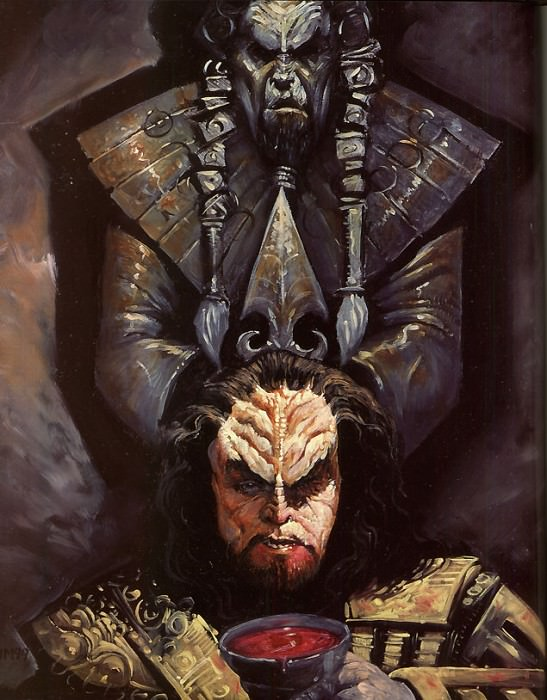 Mueller John-Klingon-3-D50. John Klingon Mueller