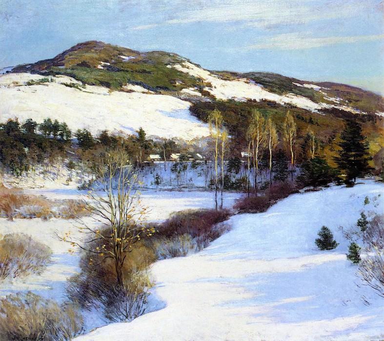 Cornish Hills. Willard Leroy Metcalf