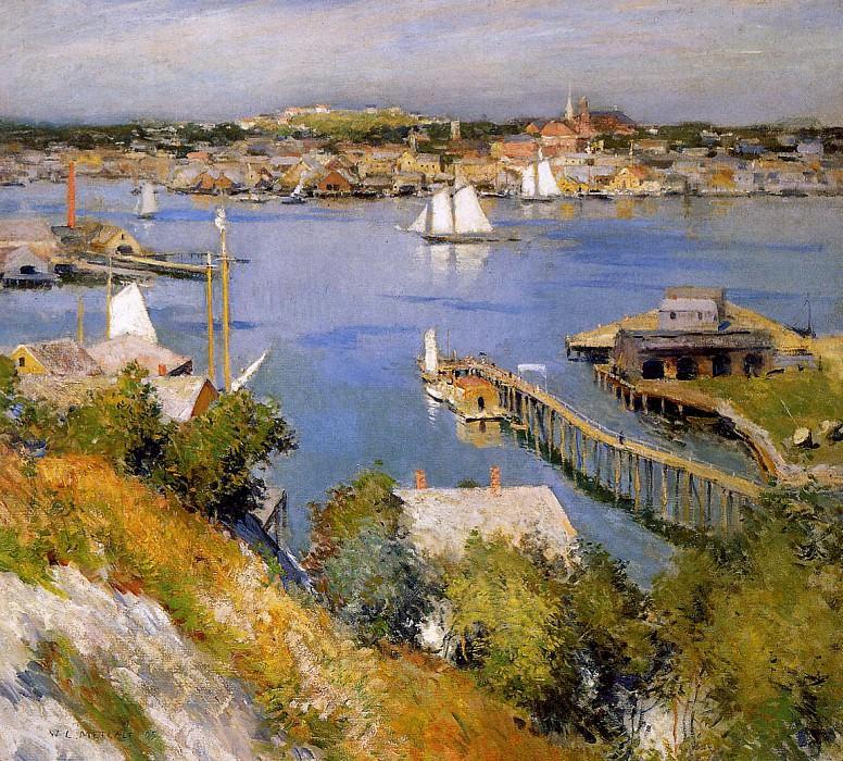 Глостерская гавань. Уиллард Лерой Меткалф
