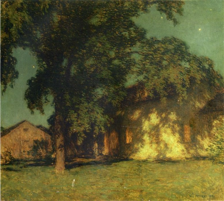 Summer Night No. 2. Willard Leroy Metcalf