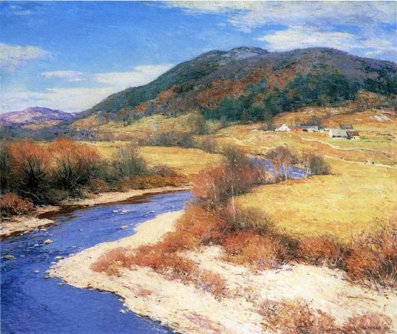 Indian Summer Vermont. Willard Leroy Metcalf