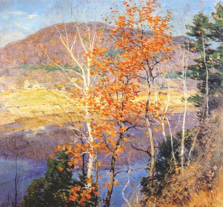closing autumn 1924. Willard Leroy Metcalf