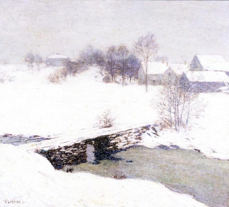 The White Mantle. Willard Leroy Metcalf