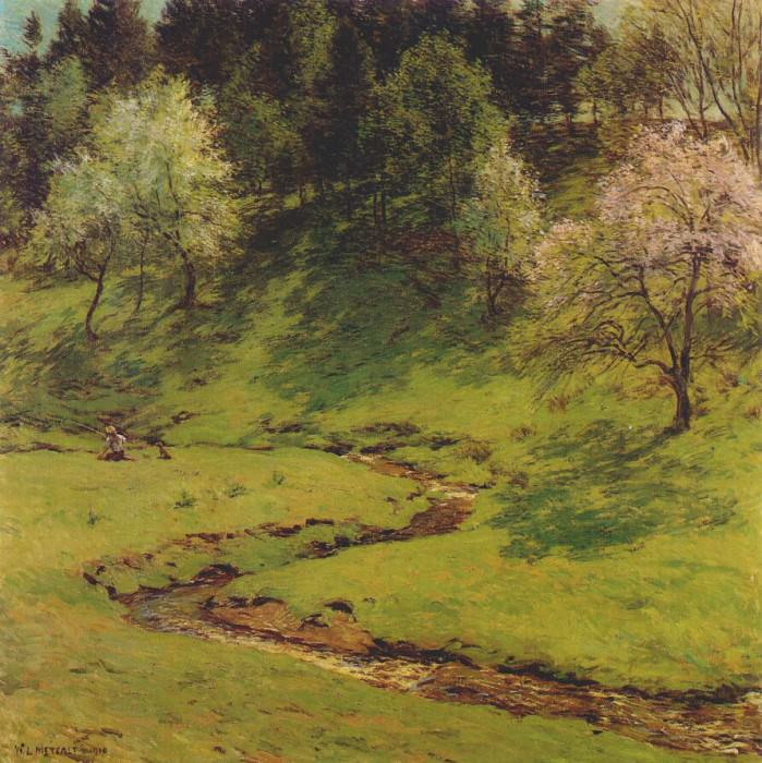 blossom time 1910. Willard Leroy Metcalf
