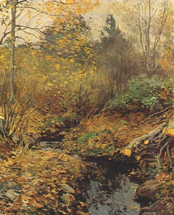 landscape 1905. Willard Leroy Metcalf