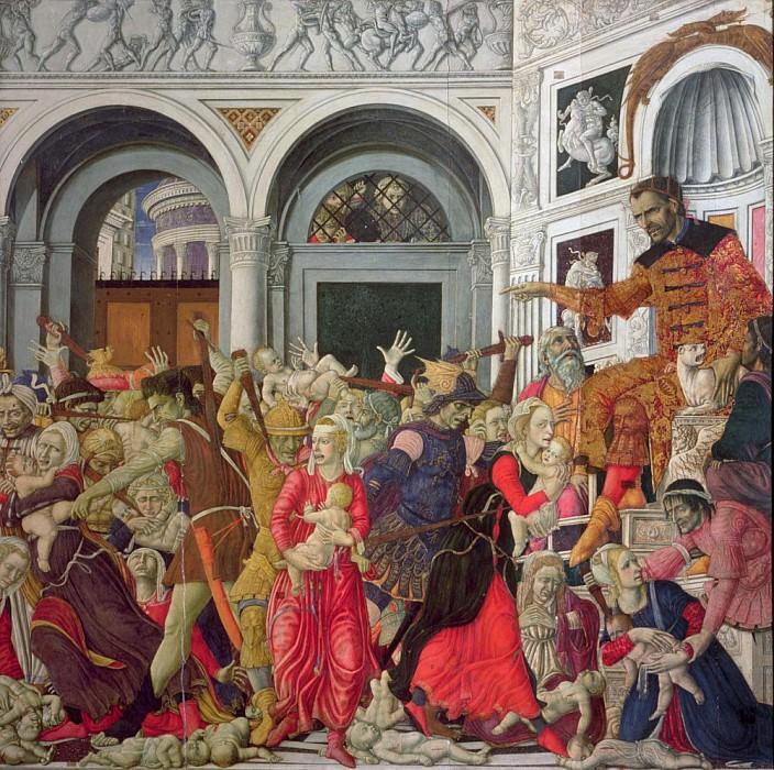 The Massacre of the Innocents. Matteo di Giovanni di Bartolo