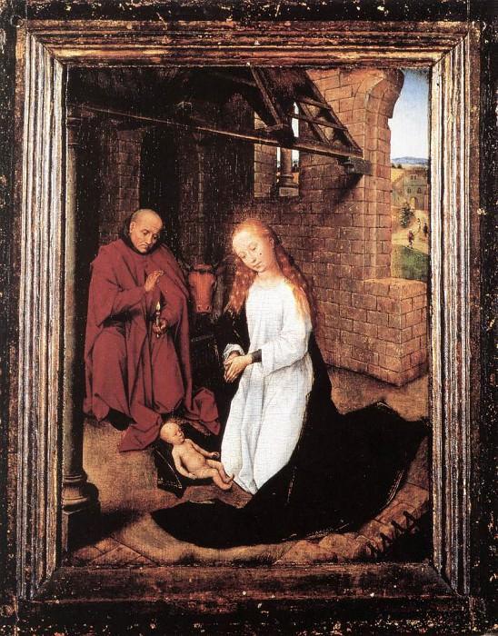 Nativity 1470. Hans Memling