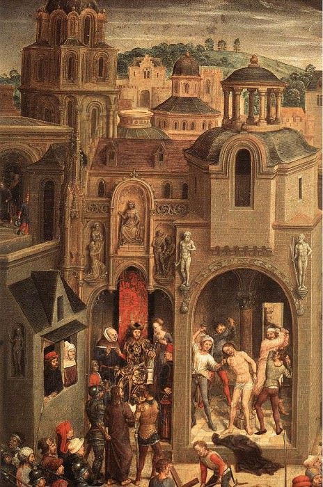 Scenes from the Passion of Christ 1470 1 detail4. Hans Memling