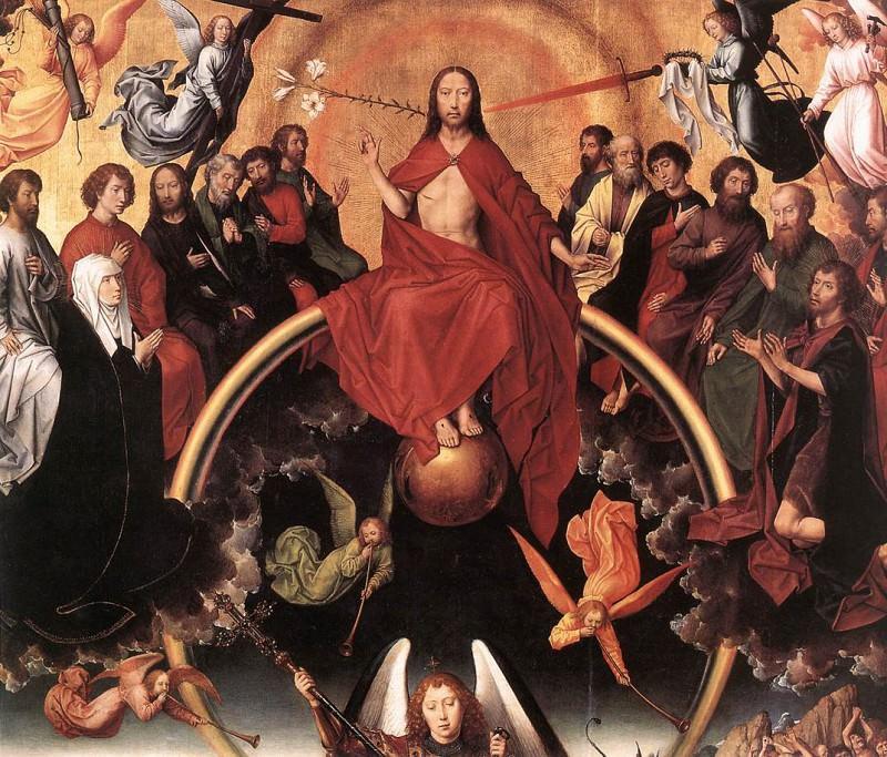 Last Judgment Triptych (open) 1467 1 detail5. Hans Memling