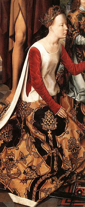 St John Altarpiece 1474 9 detail7 central panel. Hans Memling