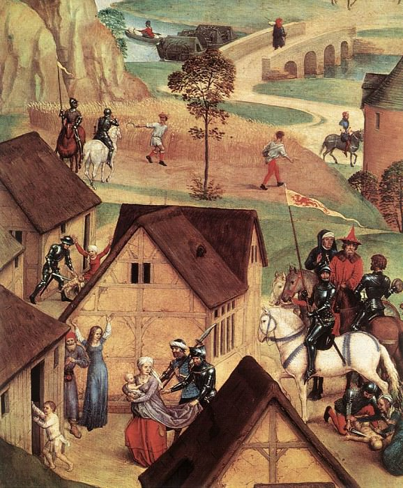 Advent and Triumph of Christ 1480 detail1. Hans Memling