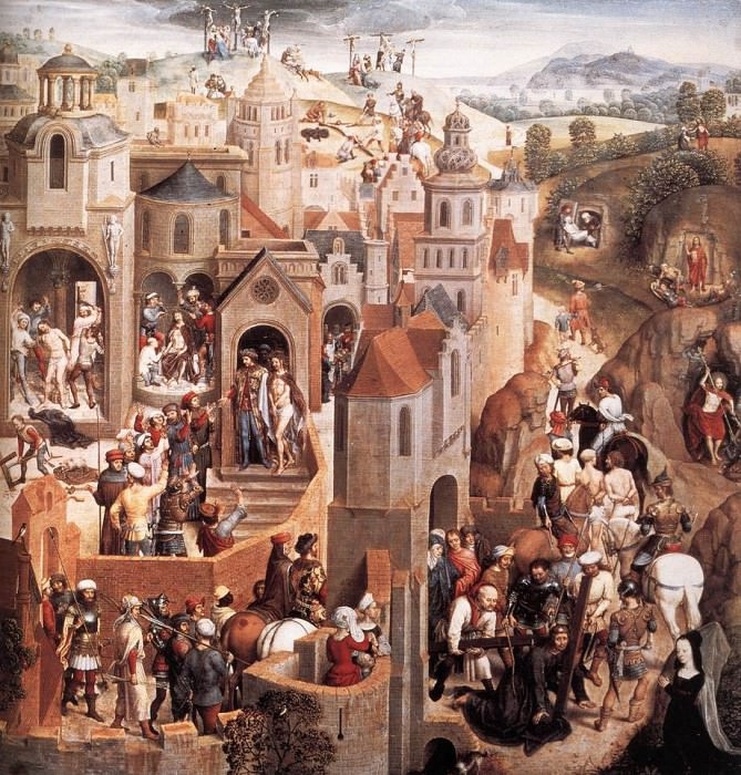 Scenes from the Passion of Christ 1470 1 detail2. Hans Memling