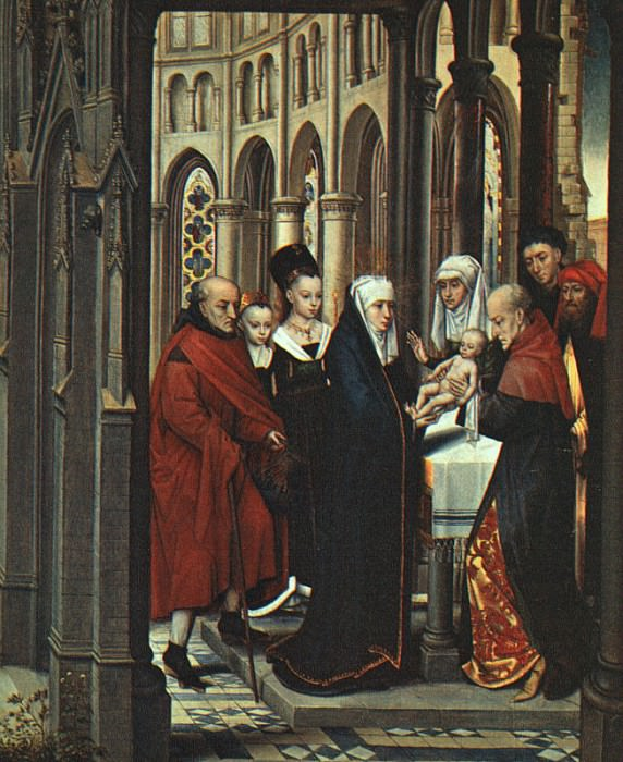 The Presentation in the Temple. Hans Memling