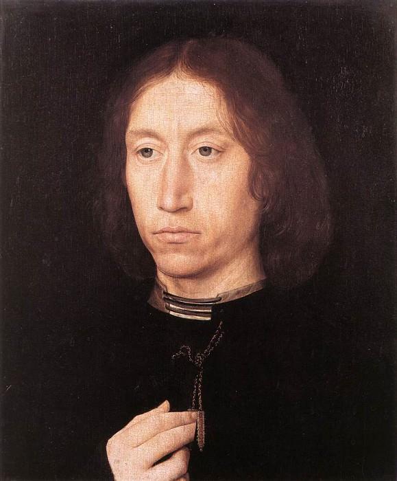 Portrait of a Man 1478 80. Hans Memling