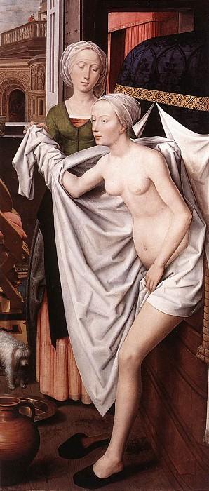 Bathsheba 1485. Hans Memling