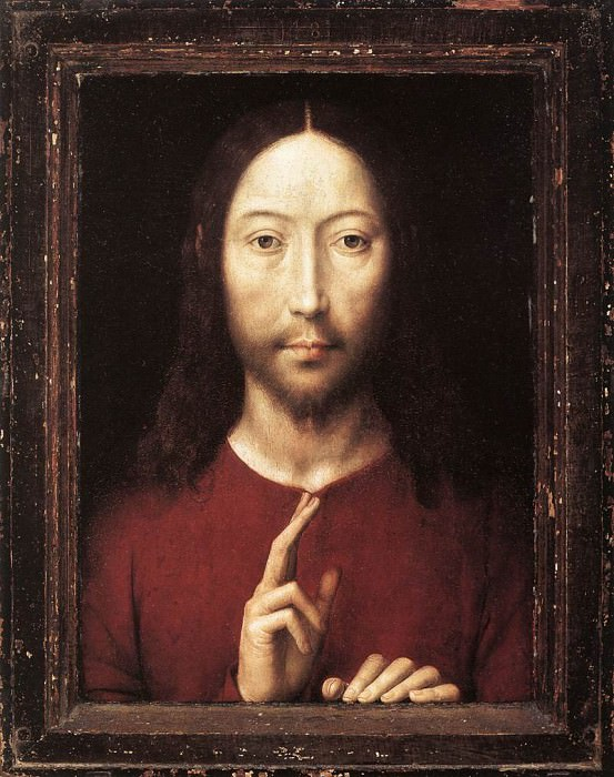 Благословляющий Христос, 1481. Ганс Мемлинг