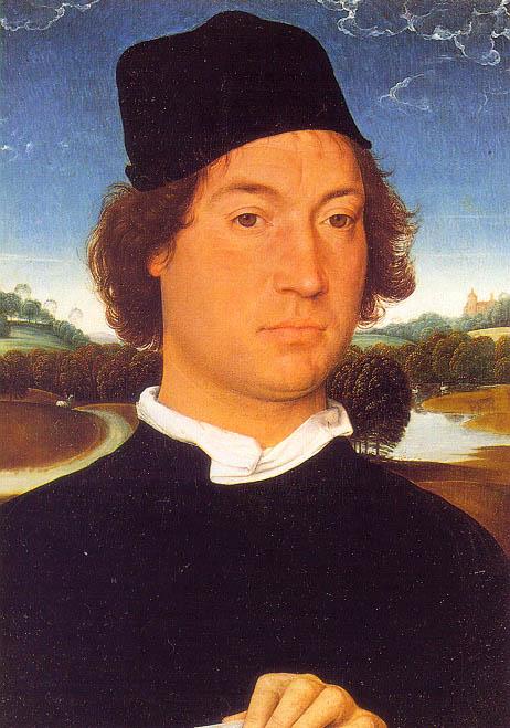Портрет молодого человека, 1470-80. Ганс Мемлинг