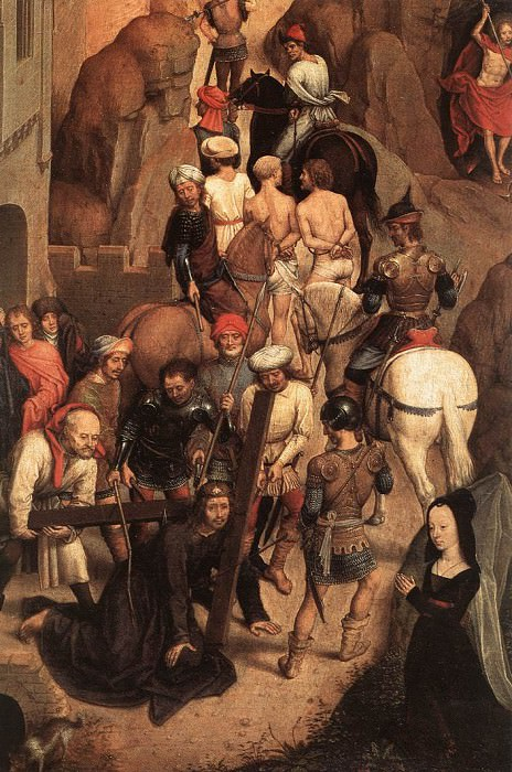 Scenes from the Passion of Christ 1470 1 detail. Hans Memling