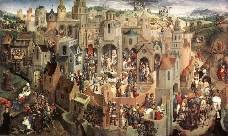 Scenes from the Passion of Christ 1470 1. Hans Memling