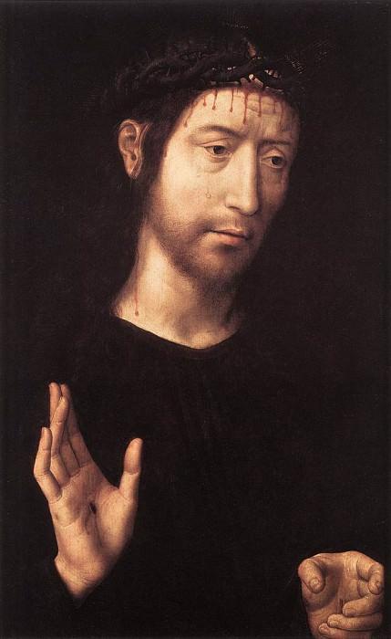 Man of Sorrows 1480s. Hans Memling