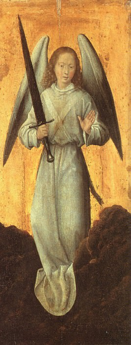 1480 The Archangel Michael. Hans Memling