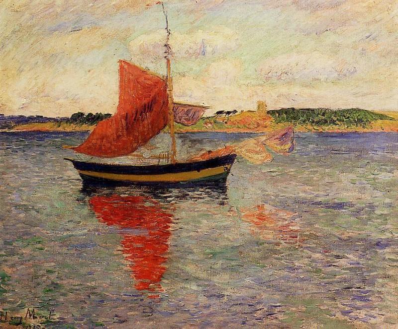 Seascape 1895. Henry Moret