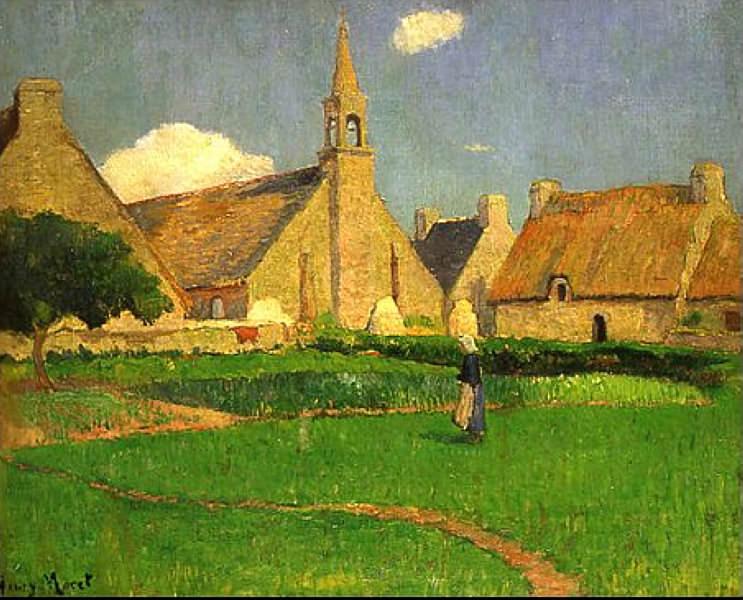 The Chapel of Le Pouldu. Henry Moret