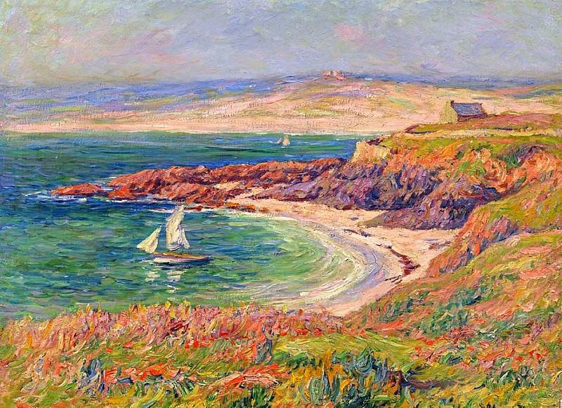 Трвильский залив, 1910. Анри Море