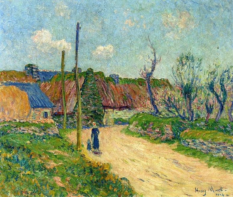 A Farm 1914. Henry Moret
