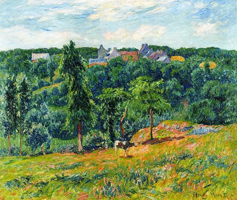 Spring at Clohars 1901. Henry Moret
