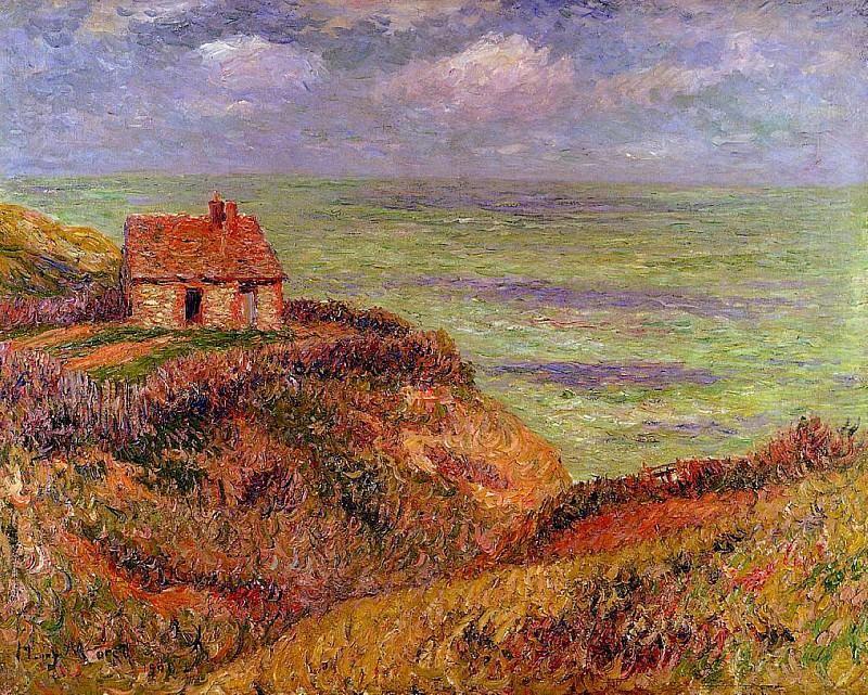 Cliffs of Moelian Finistere 1901. Henry Moret