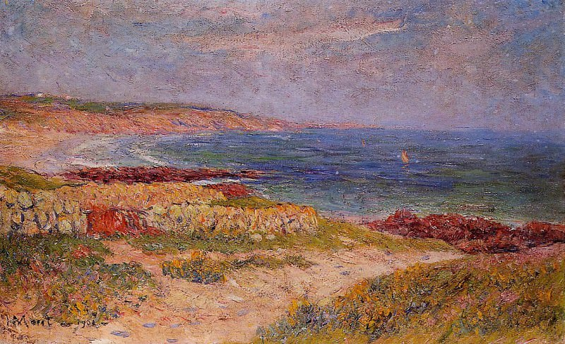 Raguenez Beach Finistere 1902. Henry Moret
