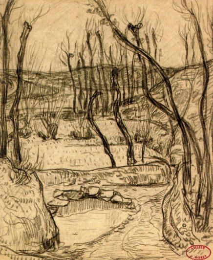 Landscape near Quimper 1892. Henry Moret