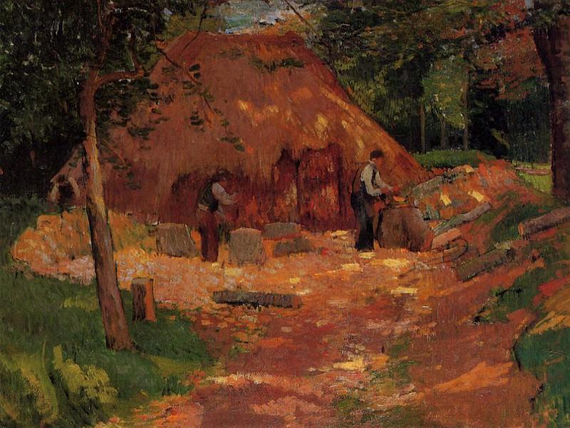 Les Saboriers. Henry Moret
