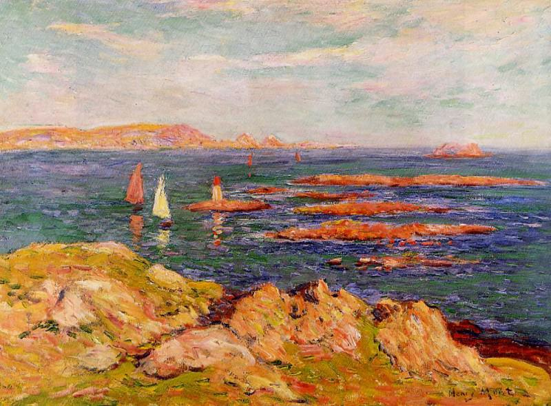 By the Sea. Henry Moret