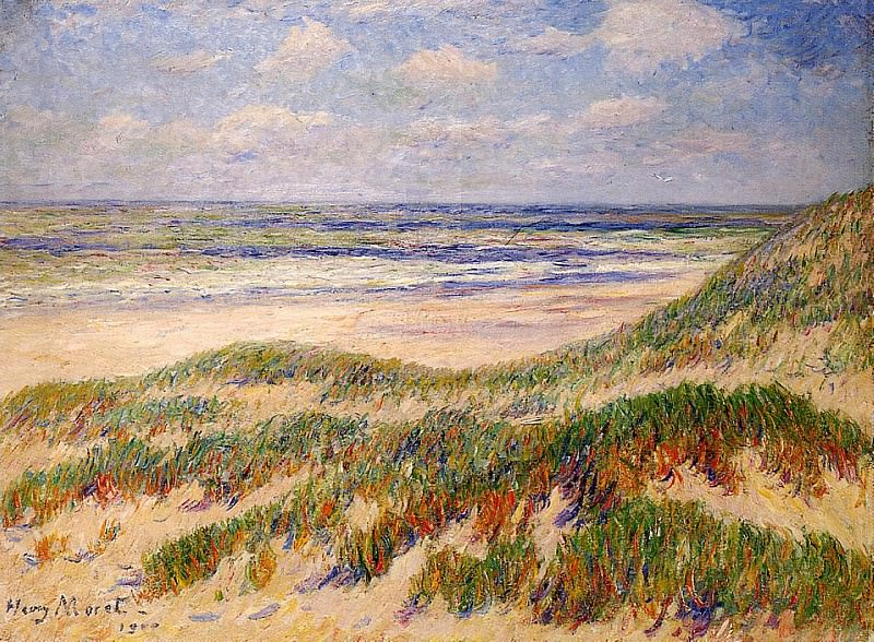 The Dunes at Egmond Holland 1900. Henry Moret