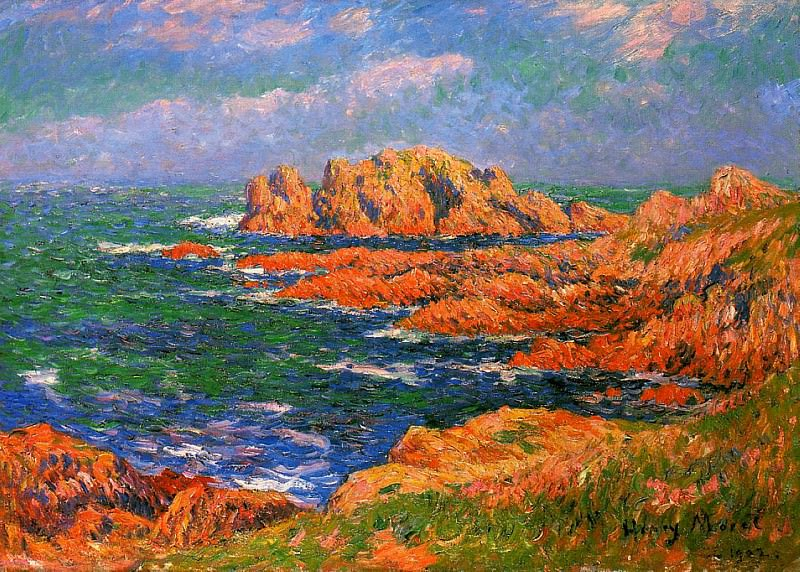 The Rocks at Ouessant 1902. Henry Moret