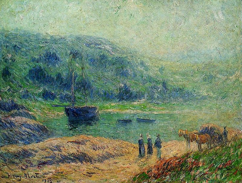 Creek in Brittany 1903. Henry Moret