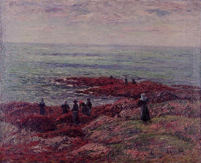The Breton Coast. Henry Moret