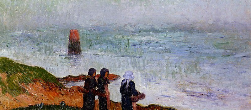 Breton Women by the Sea 1892. Henry Moret